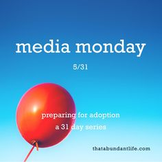 it's media monday y'all! #write31days — that abundant life