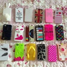 Cool iPhone cases.