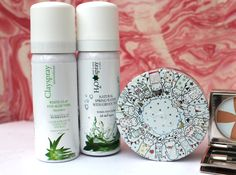 Clayspray White Clay and Aloe Vera and Steamcream