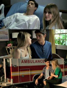 Brooke and Jake mtv scream tumblr #scream #mitzgerald #brookeandjake