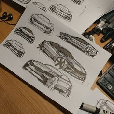 "384 Likes, 2 Comments - Autogramm / 아우토그람 (@auto.gramm) on Instagram: ""#자동차디자인 #자동차스케치 #cardesign #carsketch #sketch #drawing #car #kia"""