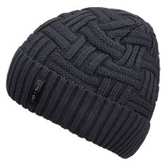 52b099c367c Buy Spikerking Mens Winter Knitting Wool Warm Hat Daily Slouchy Beanie  Skull Cap (One Size