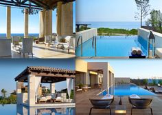 The Luxury Collection brings you premium hotels across the globe. Luxury Collection Hotels, 5 Star Hotels, Hotels And Resorts, Costa, Greek, Mansions, House Styles, Home Decor, Decoration Home
