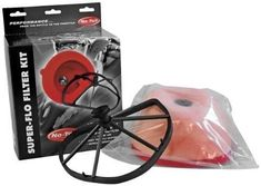 The No Toil Super-Flo Air Filter Kit will allow your machine to have more air for more horsepower. The No Toil Super-Flow Air Filter Kit will fit securely and tight for a strong seal and will not be burdened with a back-fire screen. Quad, Atv Parts, Motorcycle Parts And Accessories, Kit, Air Filter, Yamaha, Cool Things To Buy, Filters, Honda