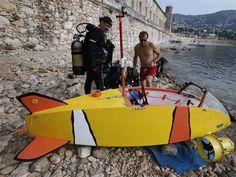 Slideshow : 'Nemo': A three-metre long submarine - 'Nemo': A three-metre long submarine with electric propulsion - The Economic Times