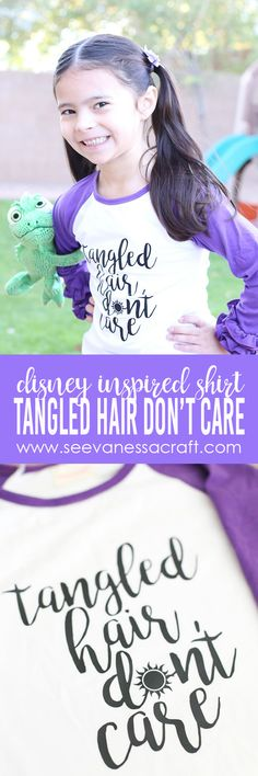 - Best DIY and Crafts Ideas Tangled Hair, Disney Tangled, Disney Diy, Disney Crafts, Disney Ears, Disney Cruise, Disney Quote Shirts, Walt Disney Quotes, Disney Inspired Fashion