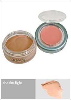 Sweat proof makeup - concealer.  if we can't get rid of the stress, at least maybe we can conceal it!