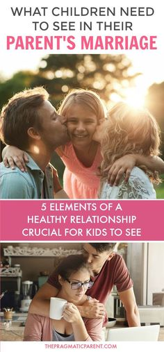Five essentials to modeling a healthy marriage for your children. These healthy habits help children understand about healthy relationships, communication and qualities that make up a strong marriage to have in their own relationships in life. Healthy Mar