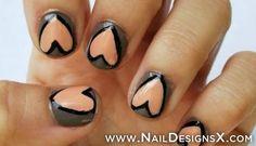 hear 13 nail design