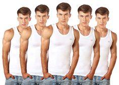 Lux Cozi Men's Cotton White Vests (Pack of Mens Innerwear, Tweed Waistcoat, Jacksonville Beach, Dental Problems, Plaid Vest, Cotton Vest, Favorite Cartoon Character, Suit Vest, Pick One