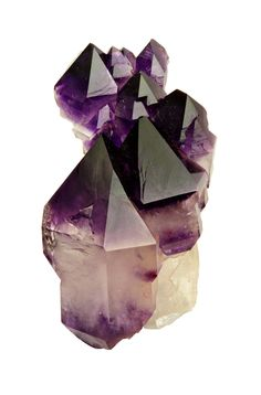 amethyst crystals- sleep with one under your pillow to heighten dream activity and awareness. Use during reiki on the crown chakra for deepe...