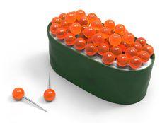 — Quirky Pushpin Sushi Tacks That'll Make You Hungry...