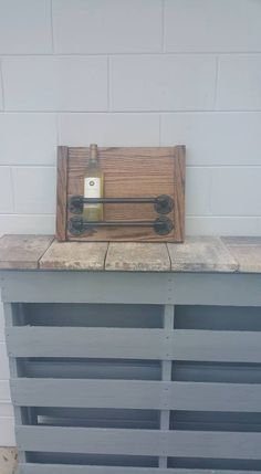 Steampunk Industrial Wine Rack/Wine Holder by RusticAndPipeDecor on Etsy