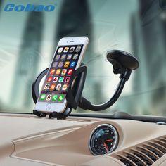Universele mobiele houder stand auto voorruit houder voor xiaomi note iphone 4 s 5 5 s 6 6 s galaxy s3 4 5 6 7 note 3 4 5