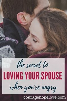 Discover what anger means and how to love your spouse in a godly way when you are angry