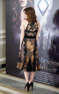 """Pactar con el Diablo por...: Lily Collins en la premiere y photocall de """"The Mortal Instruments: City of Bones"""" en Madrid"""