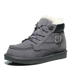 Winter new warm snow boots male and female lovers paragraph paragraph flat plus thick plus wool wool thermal cotton shoes Warm Snow Boots, Paragraph, Hiking Boots, Buy Now, High Top Sneakers, Lovers, Men's Boots, Flats, Wool