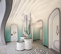 Wc Design, Mall Design, Clinic Design, Toilet Design, Daycare Design, Kids Room Design, Dining Room Design, Office Interior Design, Bathroom Interior Design