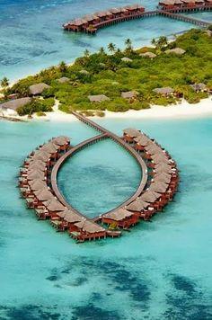 Places for Vacation -Angaga Island Resort  Spa - Maldives