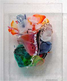 Sasha Zhitneva fused glass