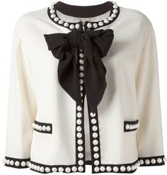 Love this: MOSCHINO Bow Jacket @Lyst