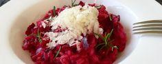 Risotto alla barbabietola rossa Una ricetta veloce e colorata