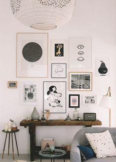 mur de cadres - mes adresses pour trouver de belles affiches