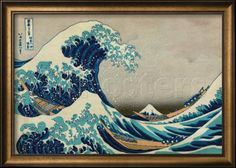The Great Wave at Kanagawa Prints by Katsushika Hokusai at AllPosters.com with