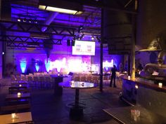 Silo 61 #Fabrique Maarssen | PHD | 150p #event #dagvoorzitter #presentator #locations #stages #chairman #congres #zalen #venues #theaters #podia