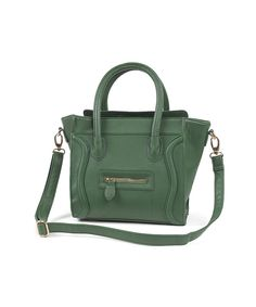Army Green MINI Julian Smile Bag -High Quality by Opaque Lion