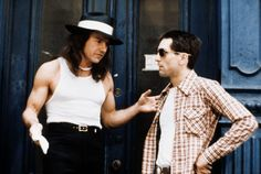 'Sport' Matthew (Harvey Keitel) & Travis Bickle (Robert De Niro) in Taxi Driver {1976}