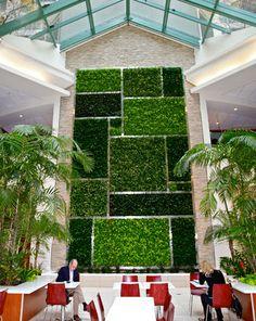 Geometric Living Wall Design Jardin Vertical Artificial, Garden Wall Designs,  Green Facade, Piet