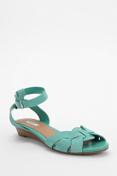 Kimchi Blue Quarter-Strap Wedge Sandal $39.00 Urban Outfitters