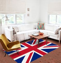 Union Jack Area rug - UK rug