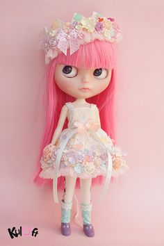 Sugar rush Collection Flowers dresses by kuloft on Etsy - there's not a girl in this world who wouldnt love this!