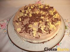 Cheesecake Doppio Cioccolato - Double Chocolate Cheesecake