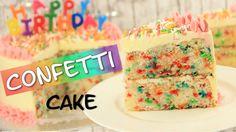 Rezept: Confetti Cake | Konfetti-Kuchen | Funfetti Cake |Geburtstagskuchen Wir backen heute einen super-bunten Confetti Cake. Perfekt für Geburtstage oder andere besondere Anlässe =) Heute haben wir einen superschnellen, leckeren Fußballsnack für Euch: Wir machen Fußball-Cookie Pops =) Zutaten: Rührteig: 420 g Mehl 220 g Zucker 2 Päckchen Vanillezucker 1 …