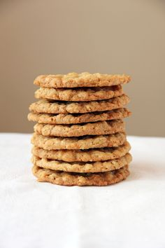 Extra Thin and Crispy Oatmeal Cookies    These were amazing! Definitely a cookie recipe keeper...yum!