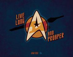 Star Trek Print by KruegerSewCrafty on Etsy