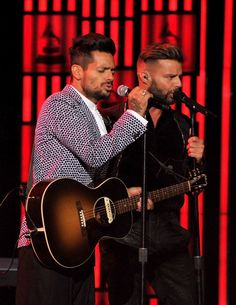 Draco Rosa y Ricky Martin #latingrammy