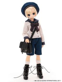 Azone Doll Excute Pure Neemo XS Boy Gymnasium in Winter Aoto N Stock | eBay