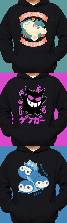 pokemon hoodies!
