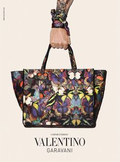 8145847ac Terry Richardson's Tattooed Arms Star Again in Valentino's Fall 2014  Accessories Campaign #Valentino Valentino Bags