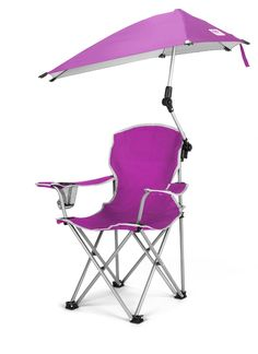 Toddler Camping Chair With Umbrella 360 Degree Sun And Wind Protection For Kids Light
