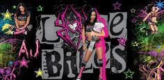 AJ Lee Love | AJ Lee love bites wallpaper by WWEDoubleM