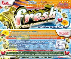 Fresh Anniversary 2007 just vintage la rave things
