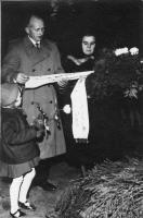 hautajaiset 1950