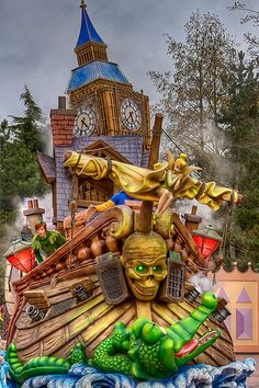 DLP Feb 2009 - Disney's Once Upon a Dream Parade Peter Pan float