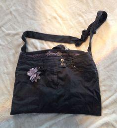 Jeanstasche — Crowdfunding bei wemakeit Black Denim Shorts, Casual Shorts, Women, Fashion, Bags, Moda, Fashion Styles, Fashion Illustrations