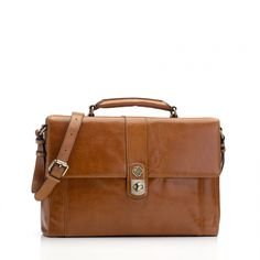 Marshall Bergman Amelia Tan Leather Satchel Laptop Bag Tan Leather 9e3f9c2d62aef